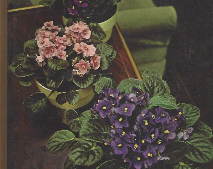 TIME-LIFE: The Encyclopedia of Gardening; Flowering House Plants by James Underwood Crockett  (1972)