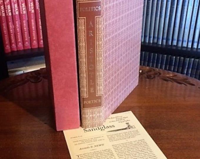 HERITAGE PRESS:  Aristotle  Politics and Poetics   (1964)