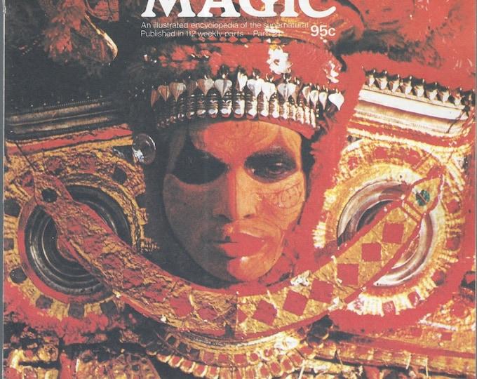 Man, Myth and Magic Part 21 Magazine by Richard Cavendish 1970