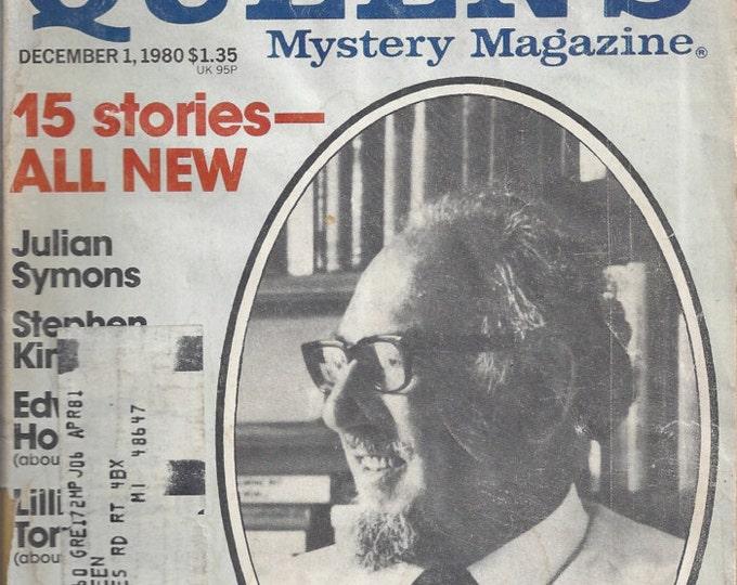 Ellery Queen December 1980 Mystery Magazine