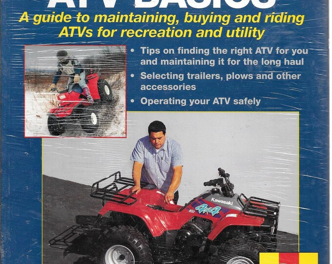 ATV Basics: Techbook Manual (Haynes Techbook) by John Haynes, Mike Mavrigian  **NEW**