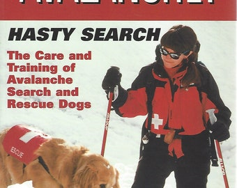 Avalanche!  Hasty Search by Patti Burnett  (2003)  Brand New    Softcover