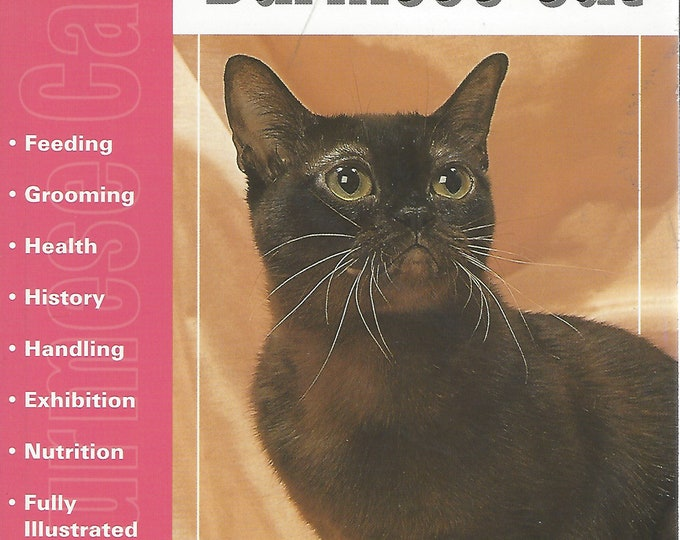 The Guide to Owning a Burmese Cat  by Justine O'Flynn (t.f.h. publications) 1997
