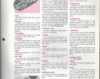 Mary Margaret McBride Encyclopedia of Cooking Cook Book Deluxe Edition 1960 (2ND EDITION) (PAGES 1441-1472)