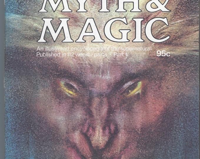 Man, Myth and Magic Part 1 Magazine by Richard Cavendish 1970