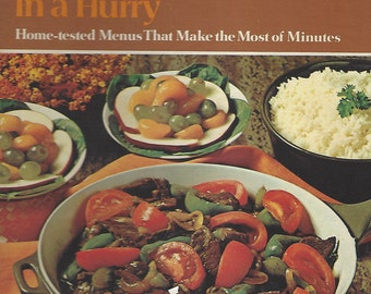 Betty Crocker's Family Dinners in a Hurry (1970) 1st Edition/Printing