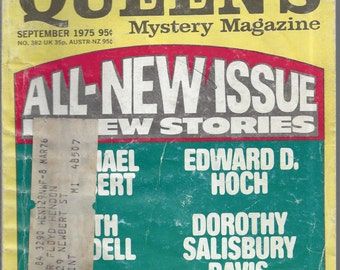 Ellery Queen's September 1975 Mystery Magazine