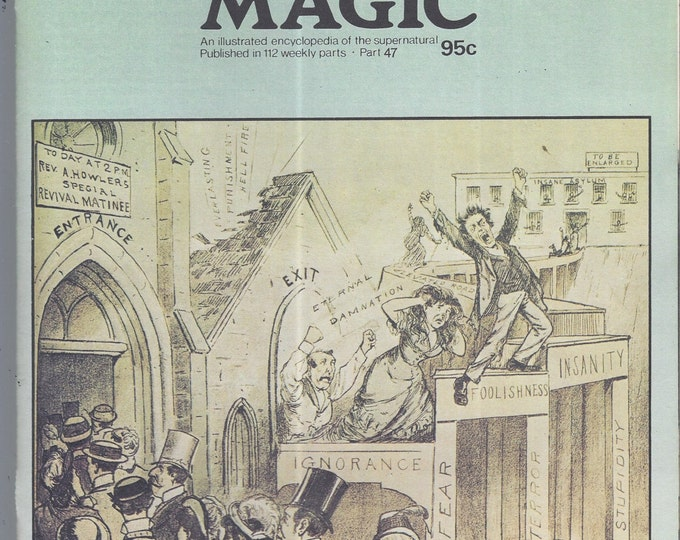 Man, Myth and Magic Part 47 Magazine by Richard Cavendish 1970