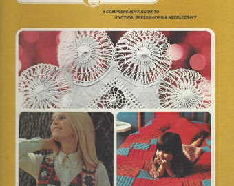 Golden Hands:  A Comprehensive Guide to Knitting, Dressmaking and Needlecraft;  Volume 4  Beverly Hilton (1973)