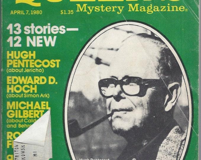 Ellery Queen April 1980 Mystery Magazine