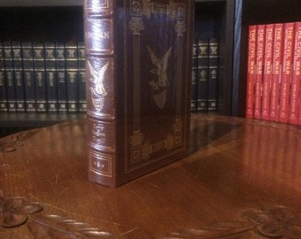 Lincoln by David Herbert Donald Easton Press (Leather Bound) (SEALED MINT)
