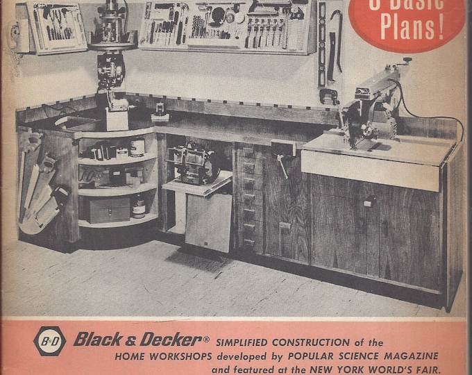 How to plan and build a home workshop by Donald R. Brann (Easi-bild simplified directions 677) Paperback