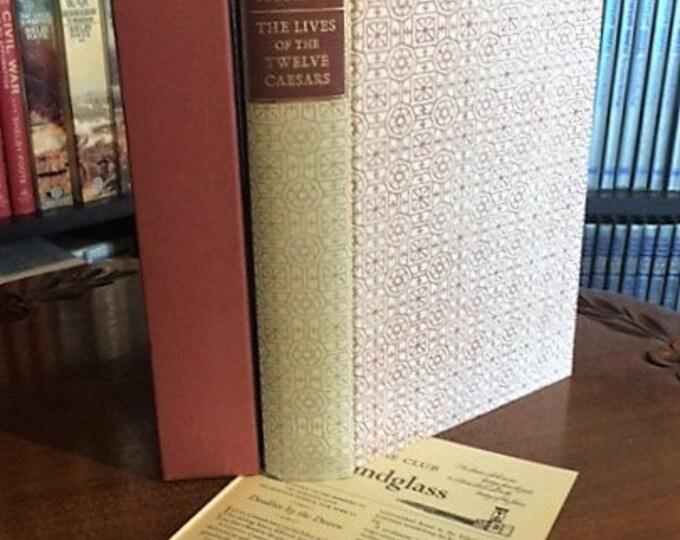 HERITAGE PRESS: Suetonius;   The Lives of the Twelve Caesars    (1965)