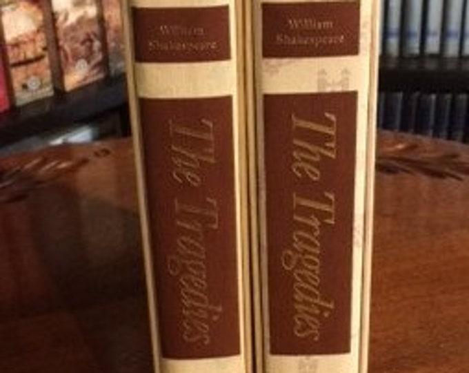 HERITAGE PRESS: William Shakespeare; The Tragedies   2 Volume Set     (1986)