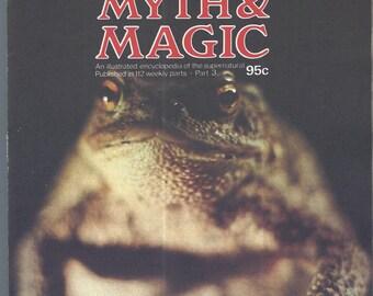 Man, Myth and Magic Part 3 Magazine by Richard Cavendish 1970