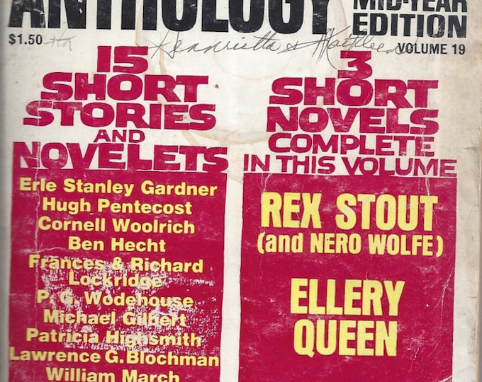 Ellery Queen's ANTHOLOGY 1970 Volume 19 Mystery Magazine