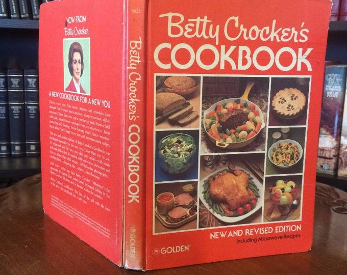 Betty Crocker's Cook Book New and Revised Edition (Including Microwave Recipes) 1979