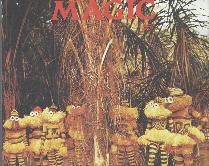 Man, Myth and Magic Part 18 Magazine by Richard Cavendish 1970