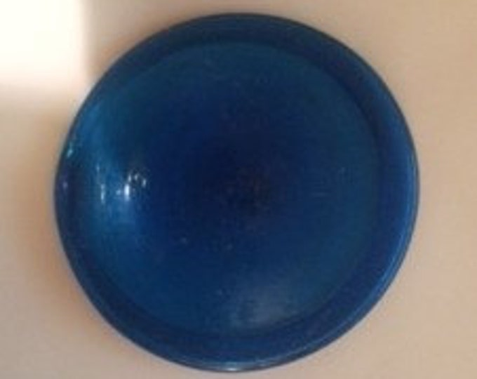 """3"""" Antique Rondel (Deep Blue)  Made in Germany"""