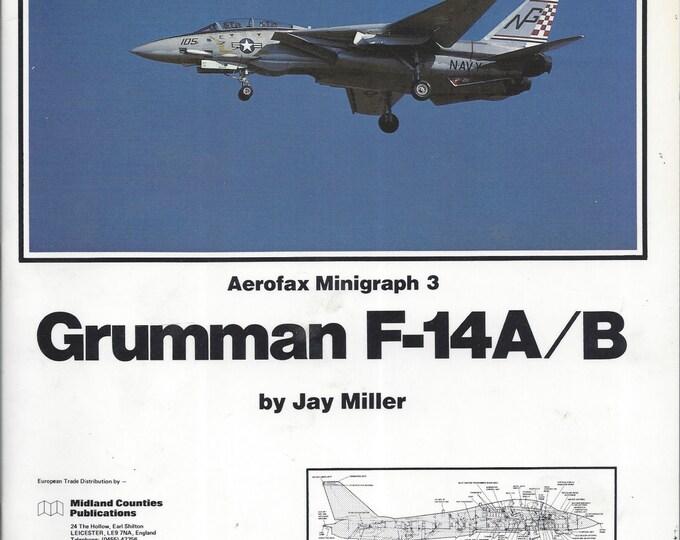 Areofax Minigraph 3: Grumman F-14A/B 1984