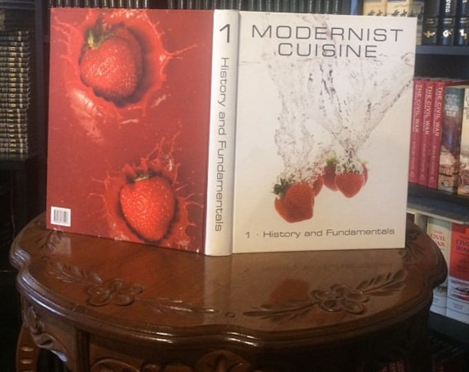 Modernist Cuisine by Nathan Myhrvold (Volume 1) 1st Edition 2011
