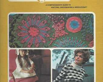 Golden Hands:  A Comprehensive Guide to Knitting, Dressmaking and Needlecraft;  Volume 5  Beverly Hilton (1973)