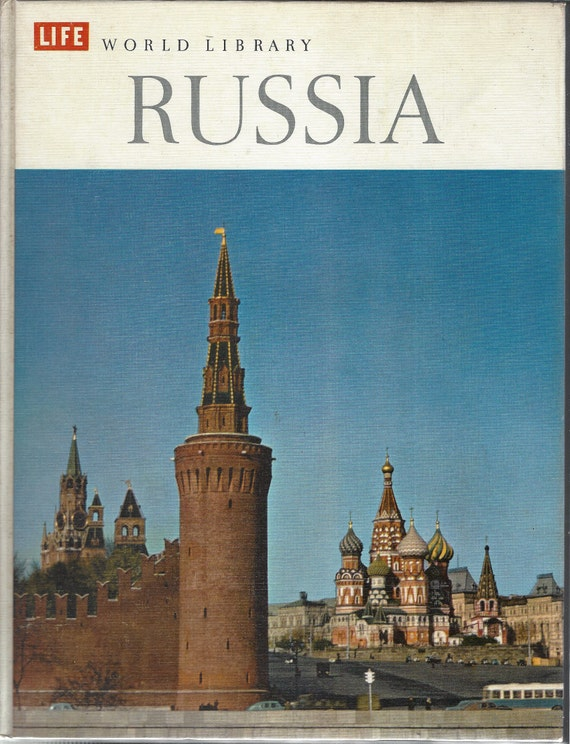 TIME LIFE: World Library; Russia by Charles Thayer (1961)