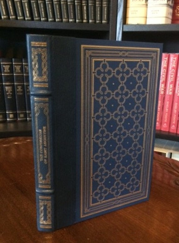 Confessions of Saint Augustine  Leather Bound (NEAR MINT)