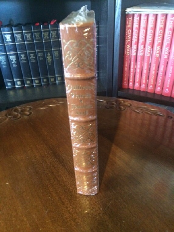 Gulliver's Travels by Jonathan Swift Easton Press - 100 Greatest (Leather Bound) (SEALED MINT)