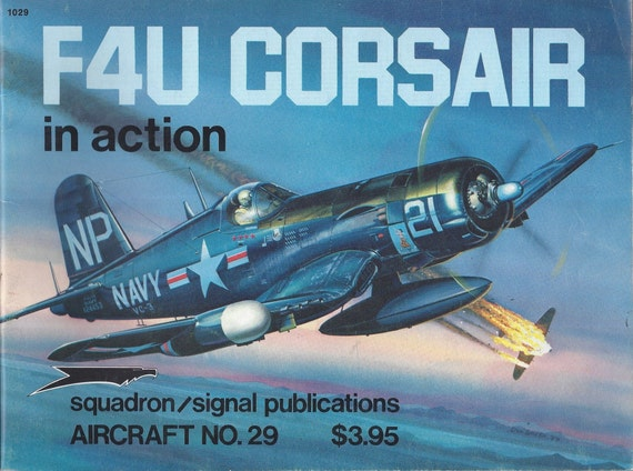 F4U CORSAIR IN ACTION 1977 (Paperback)