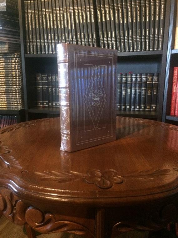 Decision at Leyte Stanley L Falk Easton Press (Leather Bound) (SEALED MINT)
