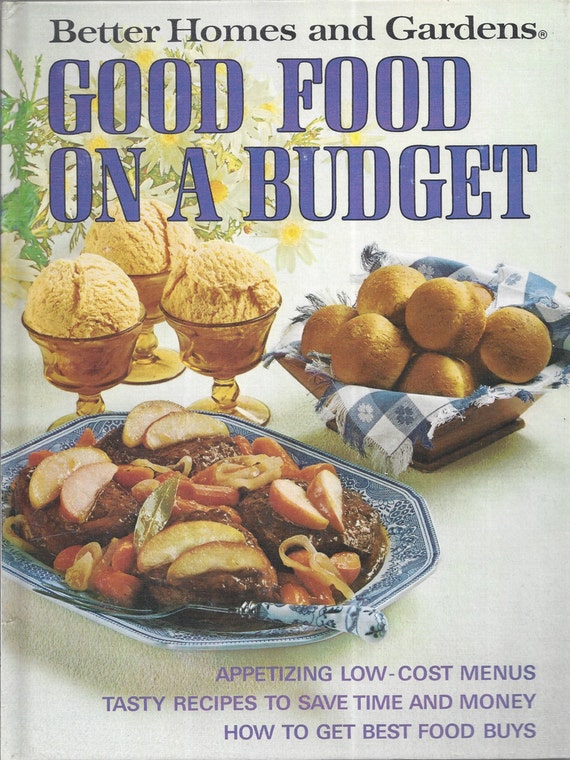 Better Homes and Gardens: Good Food on a Budget Cook Book (Hardcover)