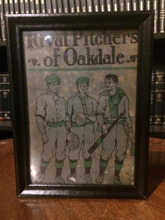 Antique book cover art-framed (1911)