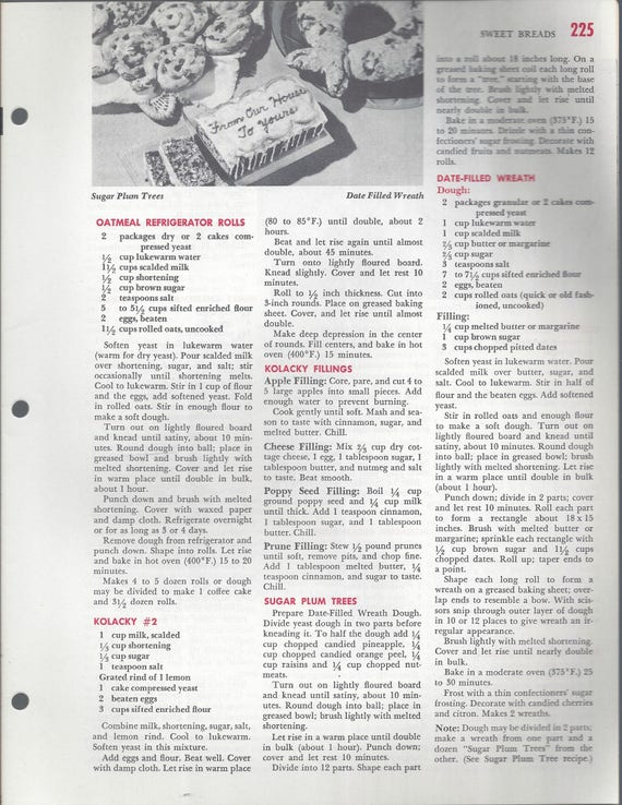Mary Margaret McBride Encyclopedia of Cooking Cook Book Deluxe Edition 1960 (2ND EDITION) (PAGES 225-256)