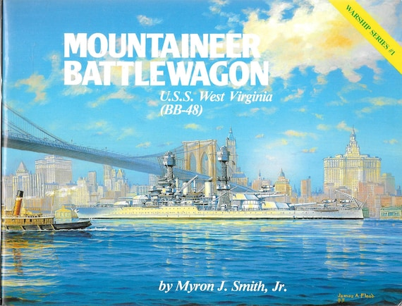 U.S. Battleships in Action Part 2 Squadron Signal Warships No. 4