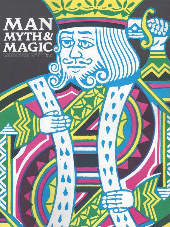 Man, Myth and Magic Part 14 Magazine by Richard Cavendish 1970