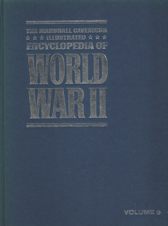 The Marshal Cavendish Illustrated Encyclopedia of World War II (Volume 9)  The Grand Alliance/End in Africa  (1972)