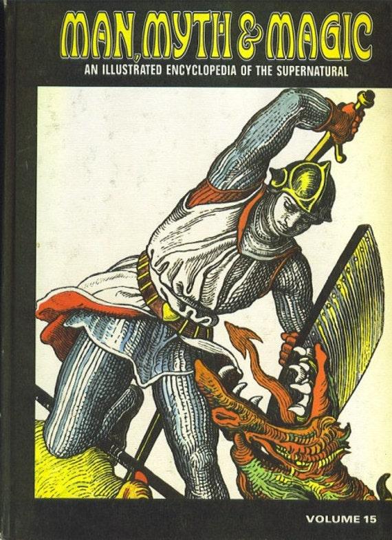 Man, Myth and Magic Volume 15 Religious Movements-Palm by Richard Cavendish 1970