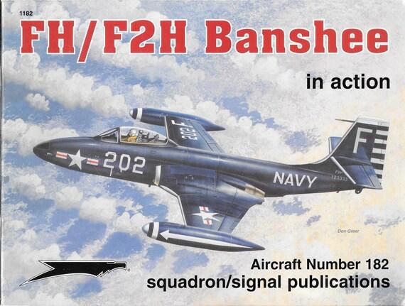 FH/F2H Banshee in Action Squadron Signal Aircraft No. 182