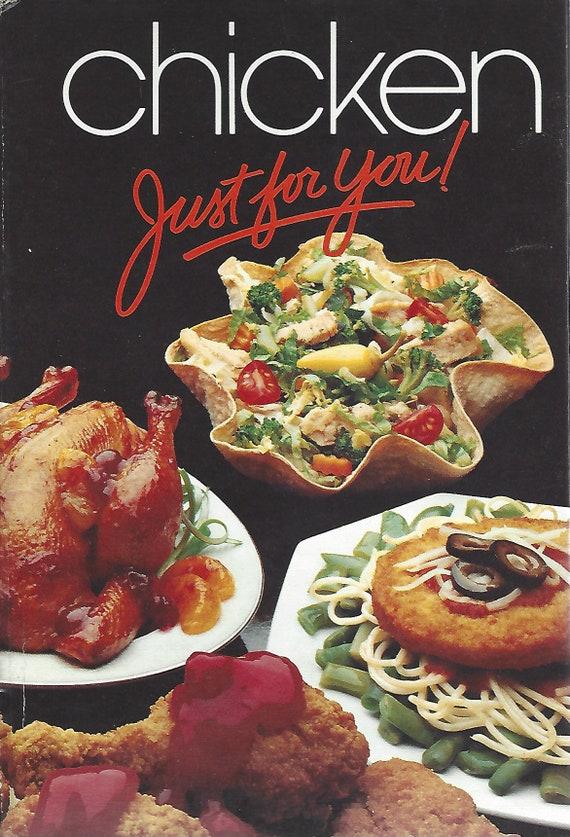 Chicken Just for You! Tyson Chicken Cookbook (Spiral) 1984