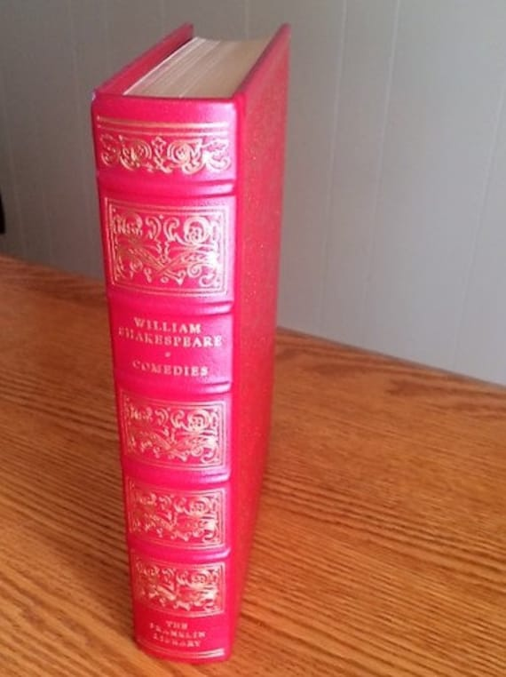 Comedies by William Shakespeare Franklin Library (Leather Bound) (NEAR MINT)
