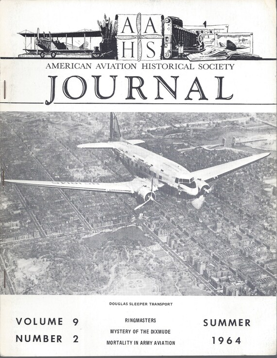 AAHS Journal Summer 1964 Volume 9-No. 2 Douglas Sleeper Transport