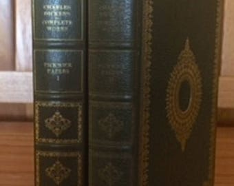 Pickwick Papers by Charles Dickens 2 Volume set