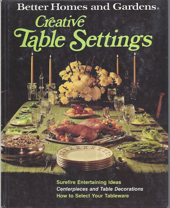 Better Homes and Gardens: Table Settings (Hardcover)