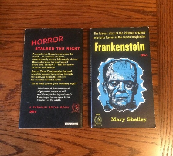 Frankenstein By Mary Shelley (Pyramid Books) 1957 1st Edition (NEAR MINT)