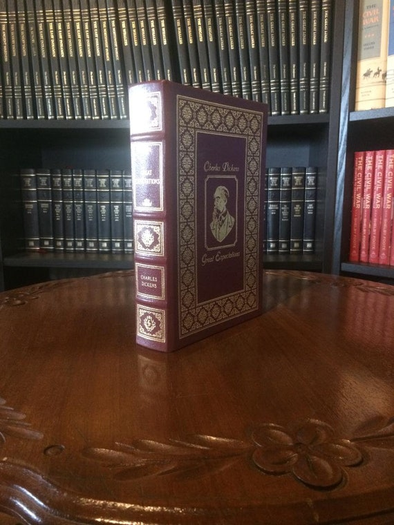 Great Expectations by Dickens Easton Press Leather Bound