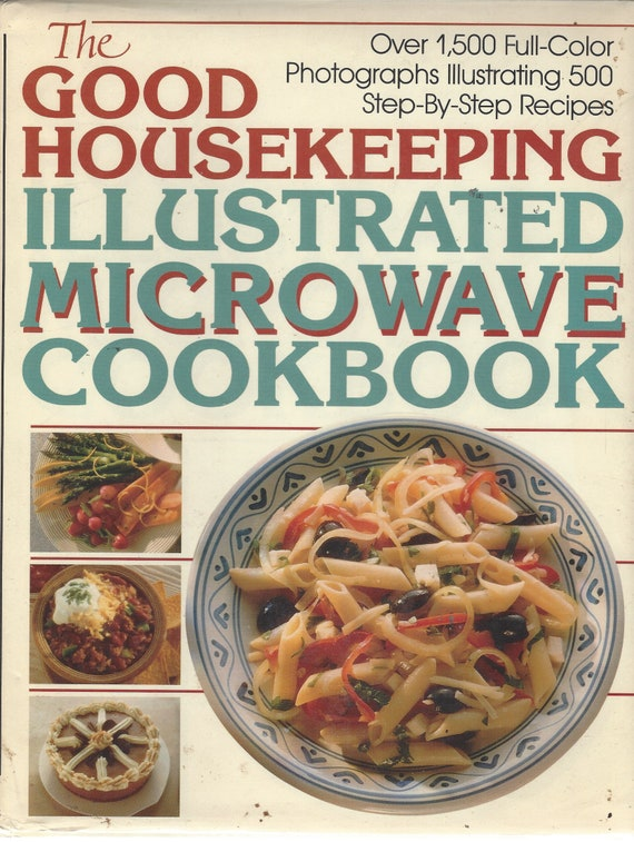 The Good Housekeeping Illustrated Microwave Cookbook   (Hardcover)   1990