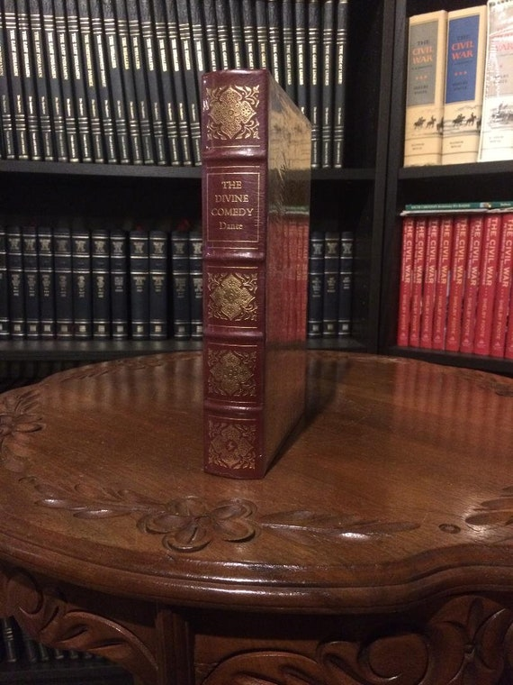 The Divine Comedy by  Dante Alighieri  Leather Bound (Easton Press) (SEALED MINT)