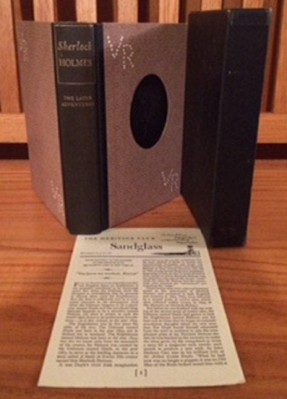 HERITAGE PRESS: Sherlock Holmes by Daniel Defoe 1952