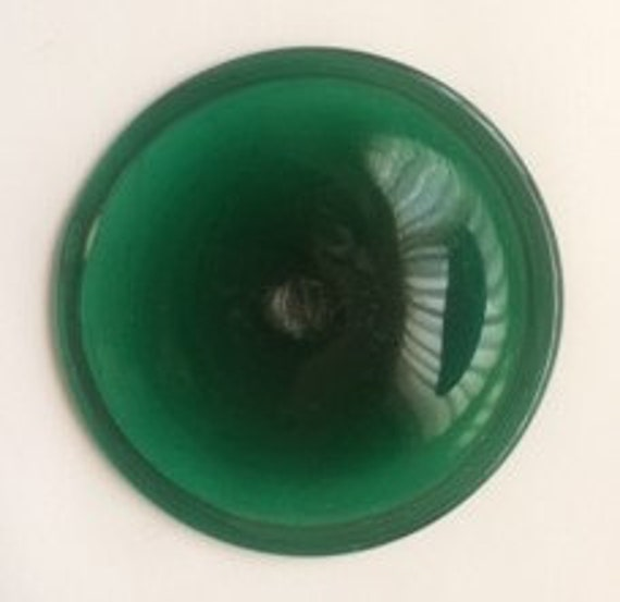 "3"" Antique Rondel (Dark Green)  Made in Germany"